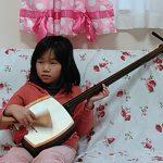2016年1月 楽器の学び 三味線 ちせちゃん、まいかちゃん、りなちゃん ❤